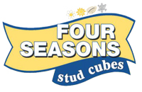 four Seasons stud cubes