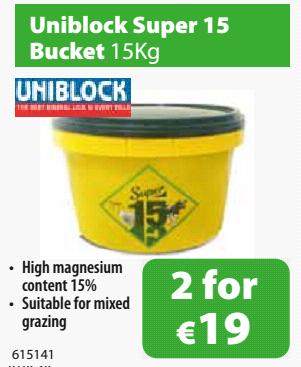 Uniblock Super 15s