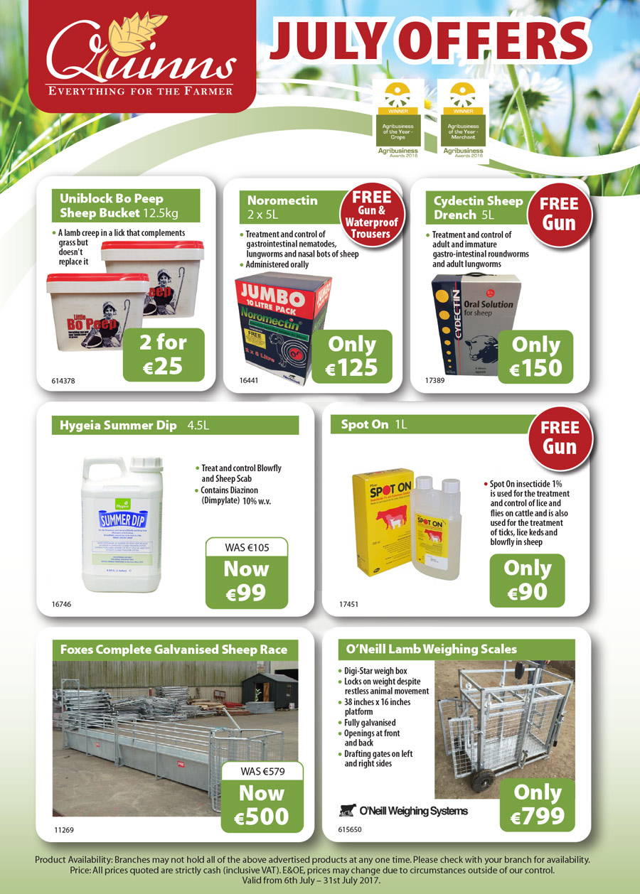 Quinns July Offers page 2