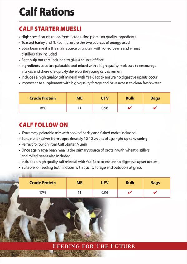 Quinns Calf Range Brochure