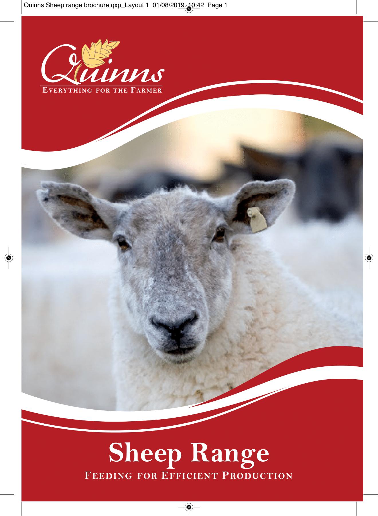Quinns Sheep range brochure AW-1
