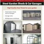 Steel Garden Sheds & Car Garages